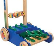 crocodile push toy