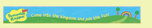 peaceable kingdom banner ad