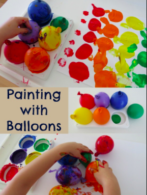 Balloon Painting! FREE for members, $7 each for non-members