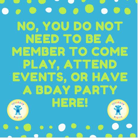 no membership needed