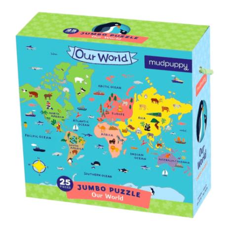 world puzzle $15